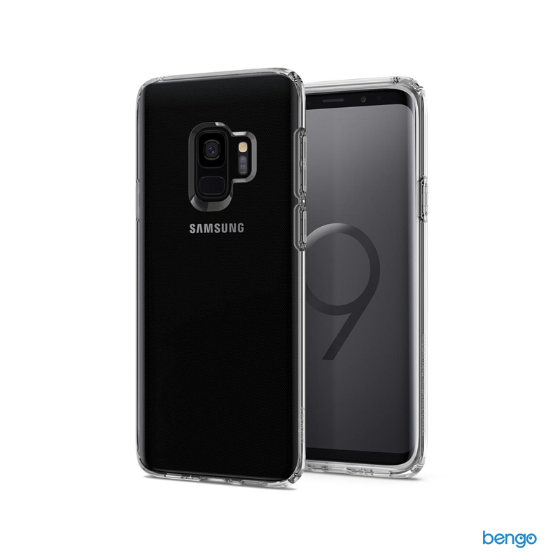 Ốp lưng Samsung Galaxy S9 SPIGEN Liquid Crystal – CrystalClear