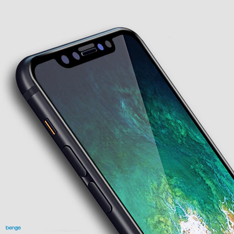 Dán màn hình cường lực iPhone X 3D Full màn hình(0.15mm)